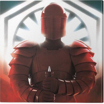 Canvas Print Star Wars The Last Jedi - Elite Guard Defend