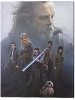 Canvas Print Star Wars The Last Jedi - Hope