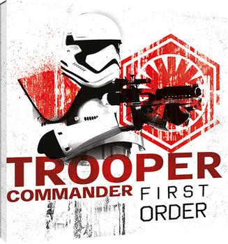 Star Wars The Last Jedi - Tooper Commander First Order Canvas Print