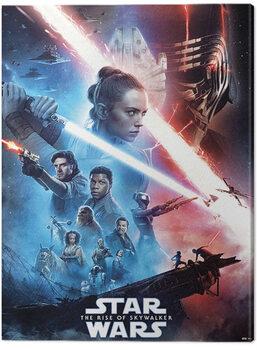 Canvas Print Star Wars: The Rise of Skywalker - Saga