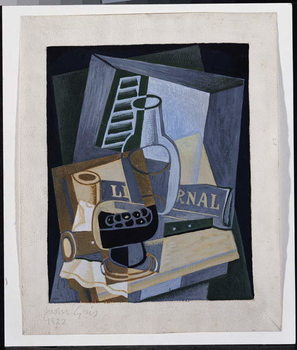 Still Life in Front of a Window, 1922 Canvas Print