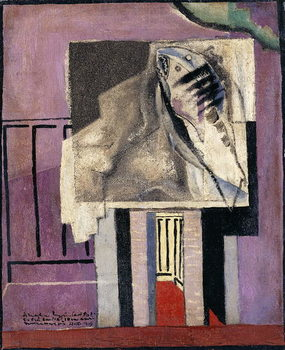 Still Life in front of Balcony; Nature Morte devant le Balcon, 1929 Canvas Print