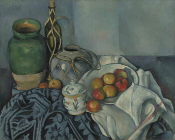 Canvas Print Still Life with Apples