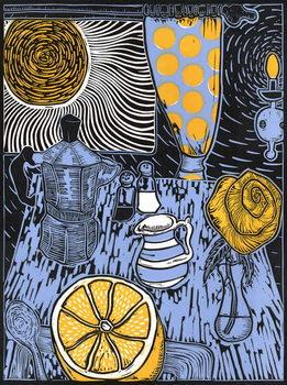 Still life with Sunshine, 2014, Canvas Print