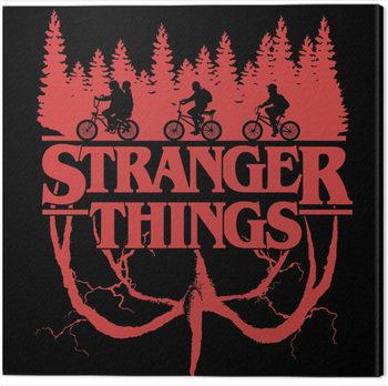 Canvas Print Stranger Things - Logo Flip