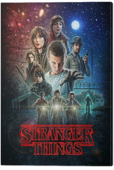 Canvas Print Stranger Things - One Sheet
