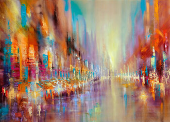 Canvas Print Streetlife