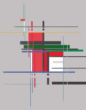 Canvas Print structure,2016,