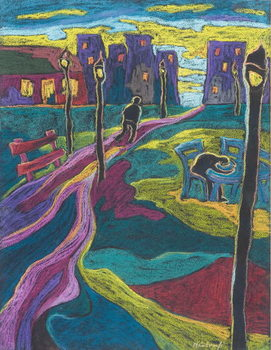 Suburbia, 2006 Canvas Print