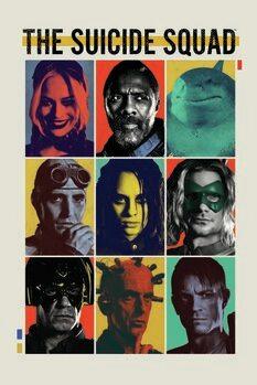 Canvas Print Suicide Squad - Crew 2
