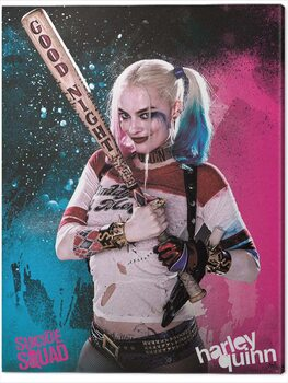 Canvas Print Suicide Squad - Harley Quinn