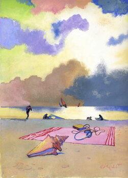 Summer Evening, 1980s Canvas Print