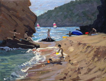 Summer in Spain, 2000 Canvas Print