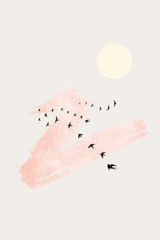 Canvas Print Sun and Heaven