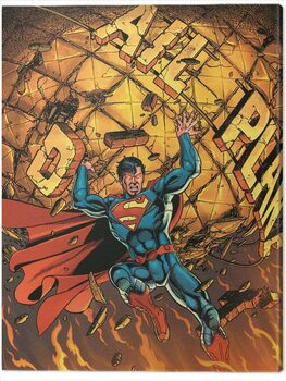 Canvas Print Superman - Daily Planet