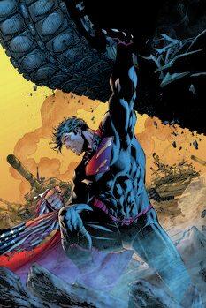 Canvas Print Superman - Huge power