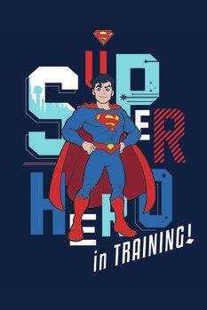 Canvas Print Superman - In training