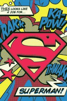 Canvas Print Superman's job
