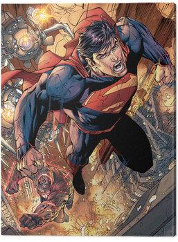 Canvas Print Superman - Wraith Chase
