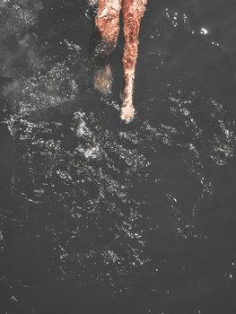 Canvas Print swimleg