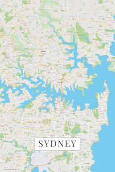Canvas Print Sydney color