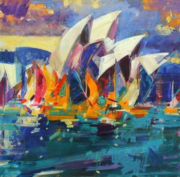 Sydney Flying Colours, 2012 Canvas Print