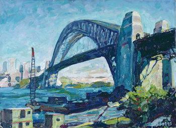 Sydney Harbour Bridge, 1995 Canvas Print