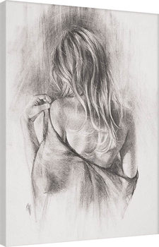 Canvas Print T. Good - Nocturnes in Charcoal II