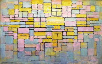 Tableau no. 2 / Composition no. V, 1914 Canvas Print