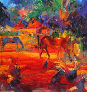 Tahiti Pastoral, 2011 Canvas Print