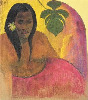 Canvas Print Tahitian Woman
