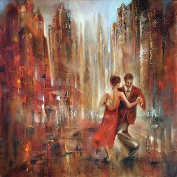 Canvas Print Tango