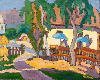 Tavern front, 2007 Canvas Print