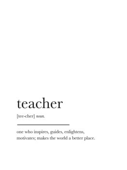 teacher Canvas Print