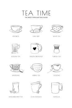 Canvas Print Teatime