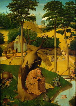 Temptation of St. Anthony, 1490 Canvas Print