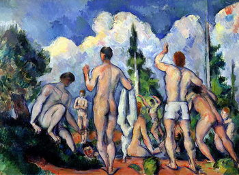 The Bathers, c.1890-92 Canvas Print
