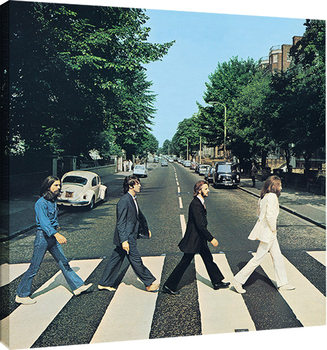 Canvas Print The Beatles - Abbey Road