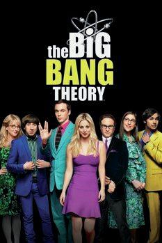 Canvas Print The Big Bang Theory - Squad