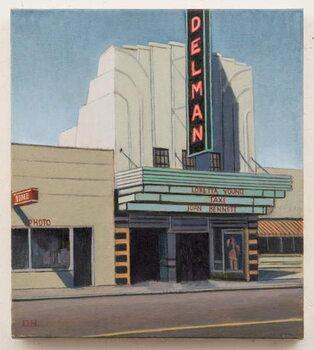 The Delman Canvas Print