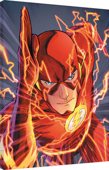 Canvas Print The Flash