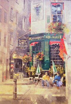 The Grapes, Shepherd Market, 1993 Canvas Print