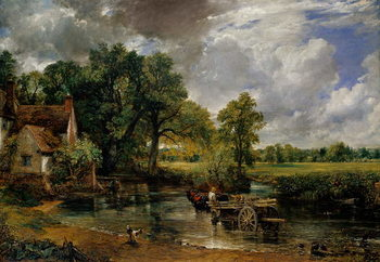 The Hay Wain, 1821 Canvas Print
