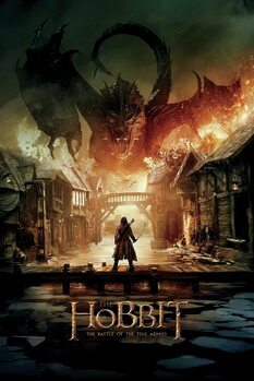 Canvas Print The Hobbit - Smaug