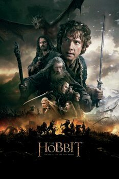 Canvas Print The Hobbit - The Battle of the Five Armies