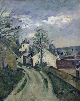 Canvas Print The House of Doctor Gachet (1828-1909) at Auvers