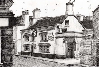 The Kings Head Yarmouth, 2008, Canvas Print