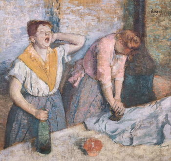 The Laundresses, c.1884 Canvas Print