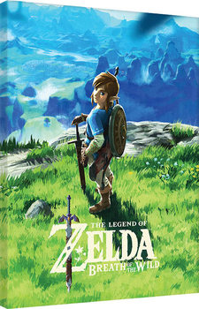 The Legend Of Zelda: Breath Of The Wild - View Canvas Print