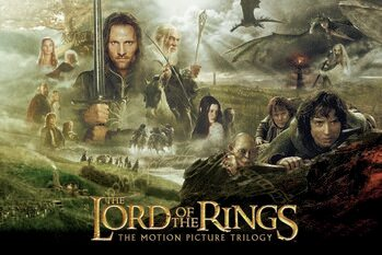 Canvas Print The Lord of the Rings - Trilogy